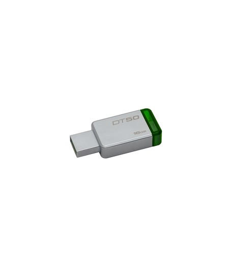 Pen Drive 16GB DataTraveler 50 USB 3.0 Metal/Green