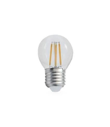 LAMPADA E27 G45 LED FILAMENTO 4W CW